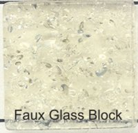 Faux Glass Block 15mm