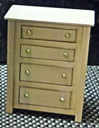 "Dresser (4 drawer) 1"" scale"