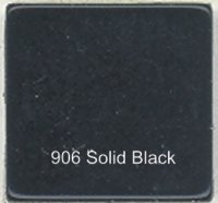 906 Solid Black - Opaque Tile