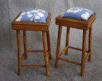 Bar Stool Tahiti Blue