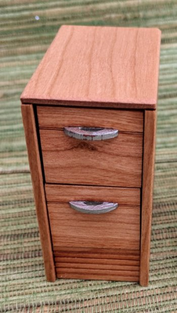 "2 Drawer File Cabinet 1/4""- Non Working Drawers (2 per kit)"