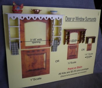 Door / Window Surround Kit (1 inch Scale)