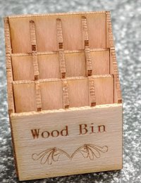 "1/2"" Wood Storage Bin Kit"
