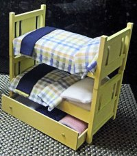 "2016 Bunkers Bunk Beds 1"" Scale Basswood Kit"
