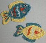 Tropical Fish Bath Rug