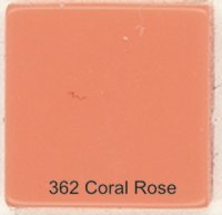 362 Coral Rose - Opaque Tile