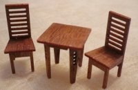 Mackintosh Table & 2 Chairs Set