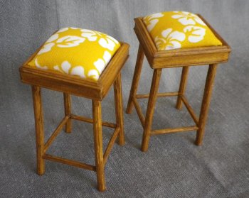 Bar Stool Tahiti Yellow