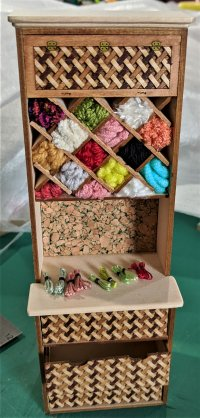 "1"" Side Cabinet for Yarn Kit"