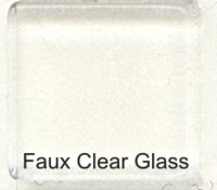 Faux Clear Glass 10 mm
