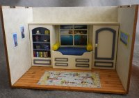 Nautical Interior ( 1/4 inch scale)