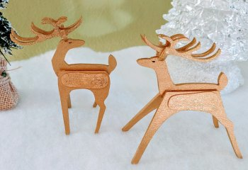"1"" Reindeer YARD Art Kit"