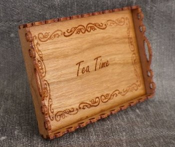 Tea Tray 1 inch scale