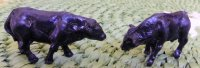 "1/4"" Scale Calves - Black"