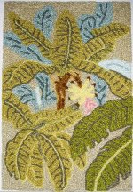 "Banana Palm Rug Kit 1"" Scale"