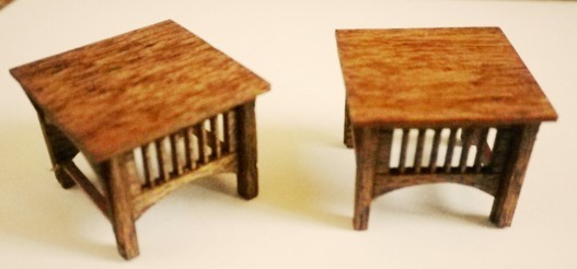 Stickley End Tables Kit Stickley 8 00 S S Furniture Company Makers Of Tropical Retro Miniatures