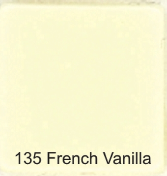 135 French Vanilla - Opaque Tile