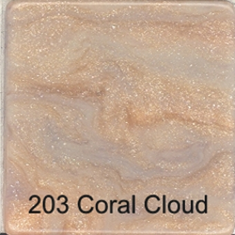 203 Coral Cloud - Faux Marble